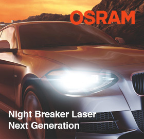 Новинка осени 2018 - Osram Night Breaker Laser Next Generation