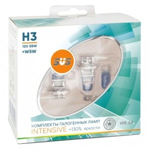 SVS H3 Intensive Ver.2 +130% +W5W