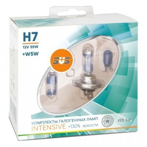 SVS H7 Intensive Ver.2 +130% +W5W