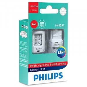 Светодиоды Philips W21W Ultinon LED