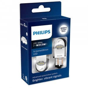 Philips W21/5W X-tremeUltinon LED gen2 - 11066XUWX2 (хол. белый)