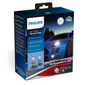Philips H8/H11/H16 X-tremeUltinon LED gen2 FOG - 11366XUWX2