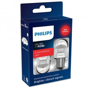 Philips P21W X-tremeUltinon LED gen2 - 11498XURX2 (красный)