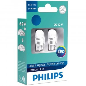 Philips W5W Ultinon LED - 11961ULW4X2 (4000K)