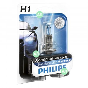 Philips H1 BlueVision Ultra