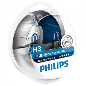 Philips H3 DiamondVision - 12336DVS2 (пласт. бокс)