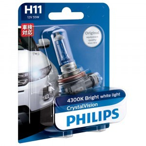 Philips H11 CrystalVision - 12362CVB1 (блистер)