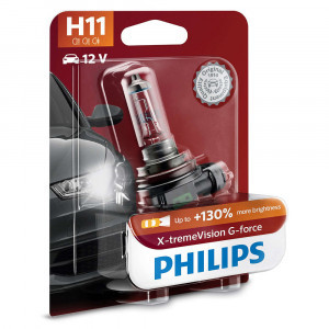 Philips H11 X-tremeVision G-force (+130%) - 12362XVGB1