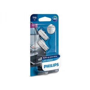 W5W Philips Vision LED 5500K