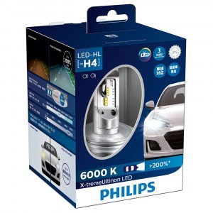 Philips H4 X-treme Ultinon LED