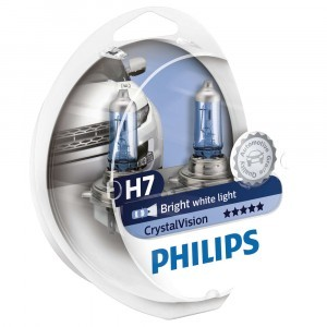 Philips H7 CrystalVision - 12972CVSM (пласт. бокс)