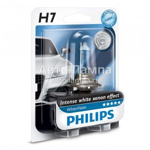 Philips H7 WhiteVision (+60%)