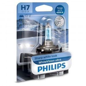 Philips H7 WhiteVision Ultra - 12972WVUB1 (блистер)