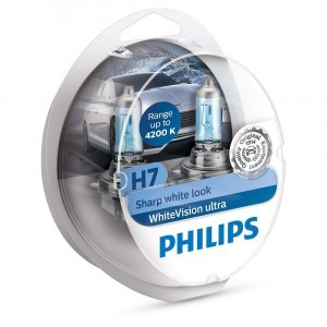 Philips H7 WhiteVision Ultra - 12972WVUSM (пласт. бокс)