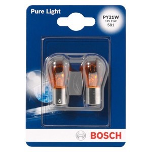 Bosch PY21W Pure Light - 1 987 301 018 (блистер)