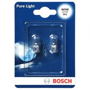 Bosch W5W Pure Light - 1 987 301 026