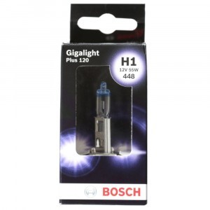 Галогеновая лампа Bosch H1 Gigalight Plus 120 - 1 987 301 150 (диз. упак. x1)