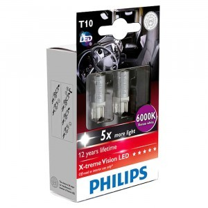 Philips W5W X-Treme Vision LED 24V
