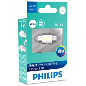 Светодиод Philips Festoon Ultinon LED 30 мм - 11860ULWX1