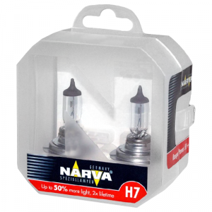 Narva H7 Range Power 50+ - 483392100 (пласт. бокс)