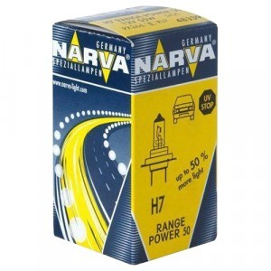 Narva H7 Range Power 50+ - 483393000 (карт. короб.)