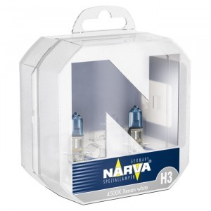 Narva H3 Range Power White - 486022100