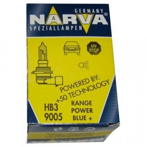 Narva HB3 Range Power Blue+