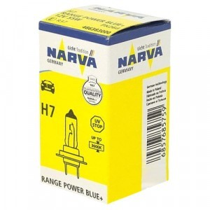 Narva H7 Range Power Blue+ - 486383000 (карт. короб.)