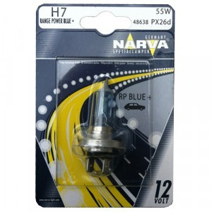 Narva H7 Range Power Blue+ - 486384000 (блистер)