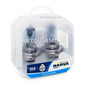 Narva H4 Range Power Blue+ - 486772100 (пласт. бокс)