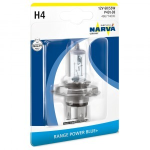 Narva H4 Range Power Blue+ - 486774000 (блистер)