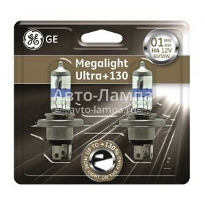 General Electric H4 Megalight Ultra +130%