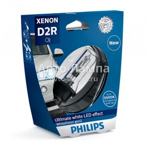 Philips D2R Xenon WhiteVision gen2 (+120%)