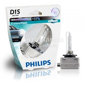Philips D1S X-Treme Vision (+50%)