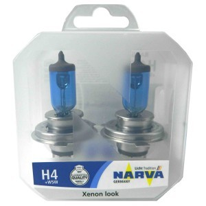 Narva H4 Range Power White - 980152100 (100/90W)