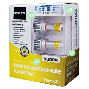 MTF-Light PSX26W LED FOG - FL11326 (3000K)