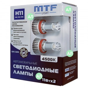 MTF-Light H8/H11/H9/H16 LED FOG