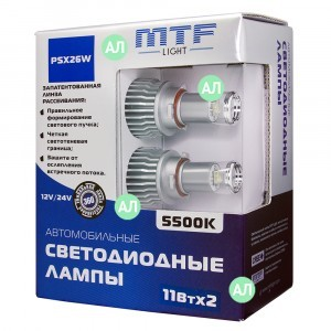 MTF-Light PSX26W LED FOG - FL11726 (5500K)