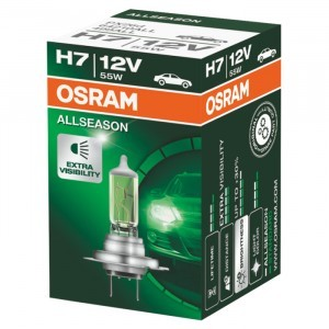 Галогеновая лампа Osram H7 AllSeason - 64210ALL (карт. короб.)