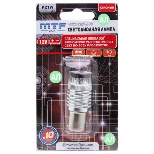 MTF-Light P21W LED 360 - P21W360R (красный)