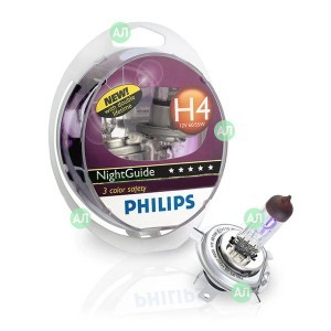 Philips H4 NightGuide DoubleLife (+50%)