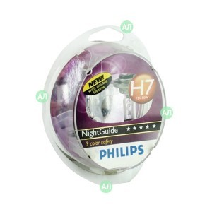 Philips H7 NightGuide DoubleLife (+50%)