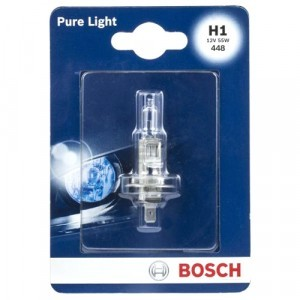Галогеновая лампа Bosch H1 Pure Light - 1 987 301 005 (блистер)