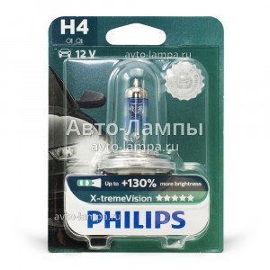 Philips H4 X-TremeVision (+130%)