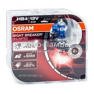 Osram HB4 Night Breaker Unlimited (+110%)