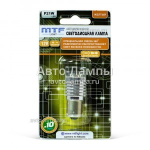 MTF-Light P21W LED 360 - P21W360E (желтый)