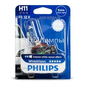 Philips H11 WhiteVision - 12362WHVB1
