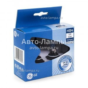 Галогеновые лампы General Electric HB4 SportLight (+50%) - 53820NHSU-79303