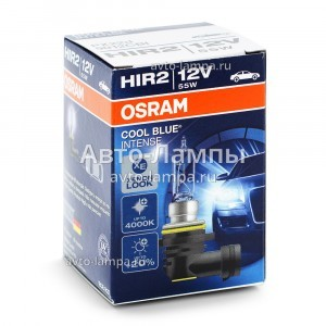 Osram HIR2 Cool Blue Intense (+20%)