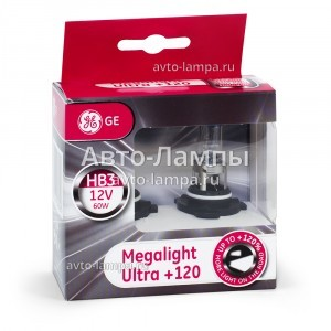 General Electric HB3 Megalight Ultra +120% - 53810NU-98436
